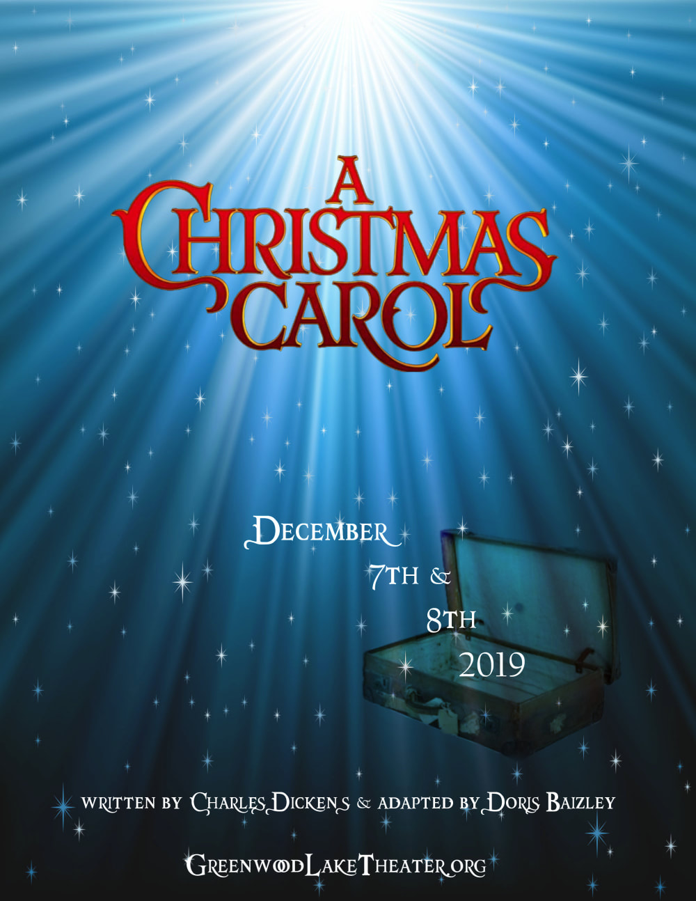 When Was A Christmas Carol Written.A Christmas Carol Greenwood Lake Theater